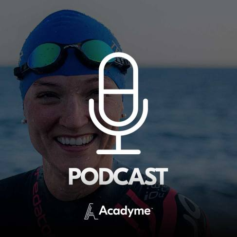 Acadyme Online Course Learn Triathlon comes with a 50 min podcast with Åsa Lundström